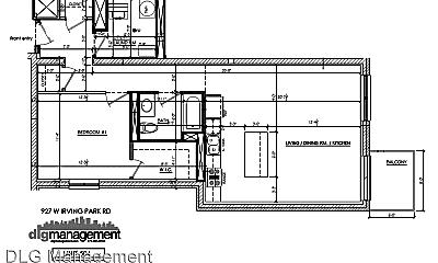 Patio / Deck, 927 W Irving Park Rd, 2