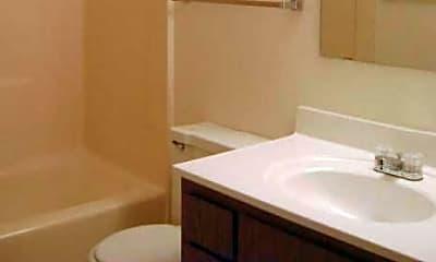 Bathroom, Timmers Lane Apartments, 2