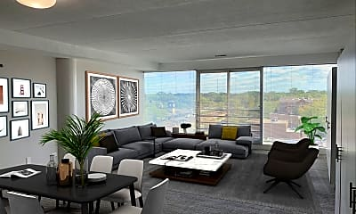 Living Room, 1770 1st St 503, 1