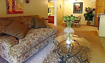 Living Room, Rancho Sierra, 1