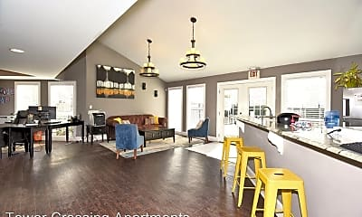 Living Room, 4404 S 109th E Ave, 2