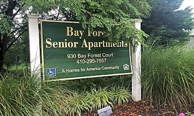 Bay Forest Senior Apartments, 1