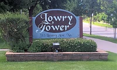 Lowry Tower, 1