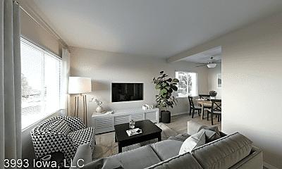 Living Room, 3993 Iowa Ave, 1