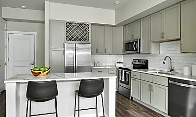 Kitchen, Lofts at Red Mountain, 1