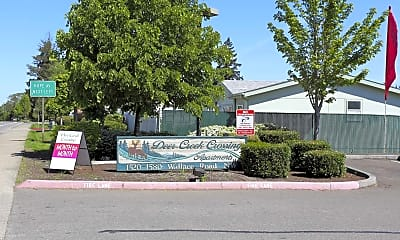Community Signage, Deer Creek Crossing, 0