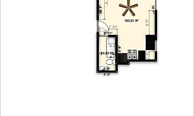 Building, 1247 N Clarkson St, 1