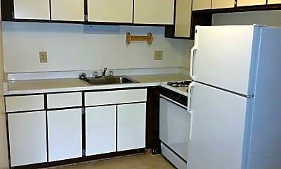 Kitchen, East Park Apartments, 0