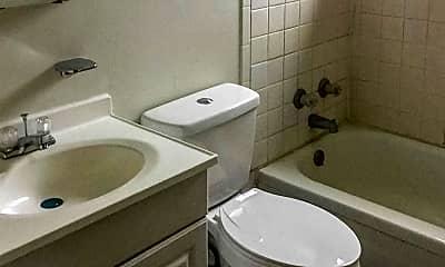 Bathroom, Kinsey Village Apartments, 2