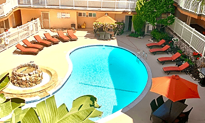 Pool, 1200 Esplanade, 1