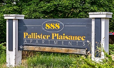Community Signage, Pallister Plaisance Apartments, 2