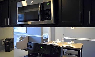 Kitchen, Oakwood Apartments, 0