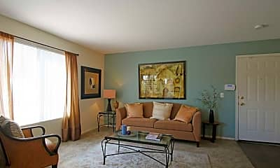 Living Room, The Boulevard Apartments, 1