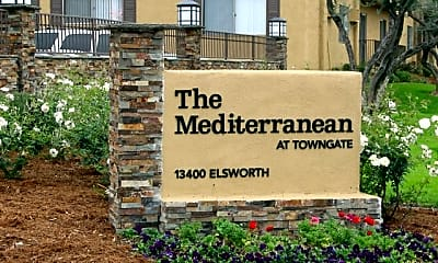 Community Signage, The Mediterranean at Towngate, 1