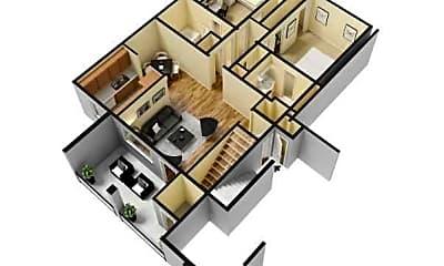 Cunningham Apartments, 1