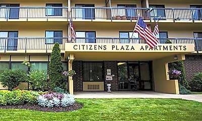 Building, Citizen's Plaza, 1