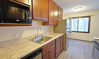 Kitchen, Lakehill Apartment, 0