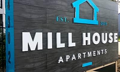 Community Signage, Mill House I & II, 0