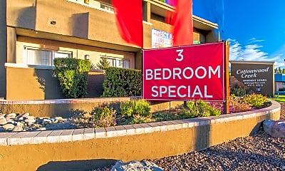 Community Signage, Cottonwood Creek, 1