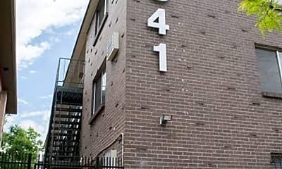 Building, 1341 N Ogden St, 1