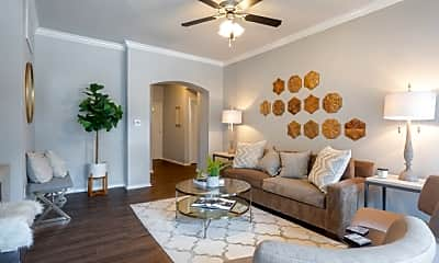 Living Room, Eastbridge Apartments, 1