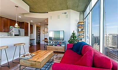 Living Room, 855 Peachtree St NE 1814, 2