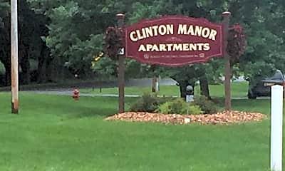 Clinton Manor Apartments, 1