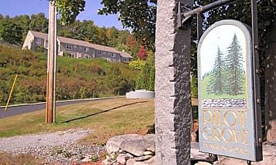 Community Signage, Pilot Grove Apartments, 2