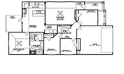 Bedroom, 7401 Russ Ln, 2