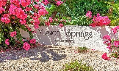 Community Signage, Mission Springs, 2