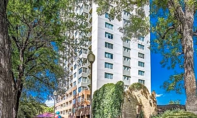Building, Country Club Towers and Gardens, 1