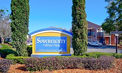 Community Signage, The Sovereignty At Winter Park, 2
