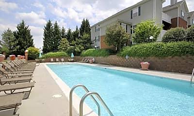 Pool, Glade Creek Apartments, 1