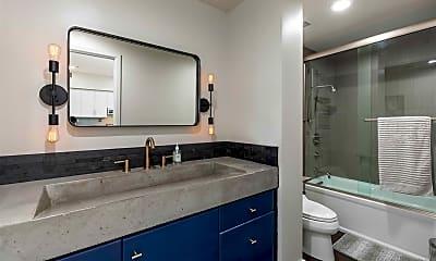Bathroom, 500 W Harbor Dr 1705, 2