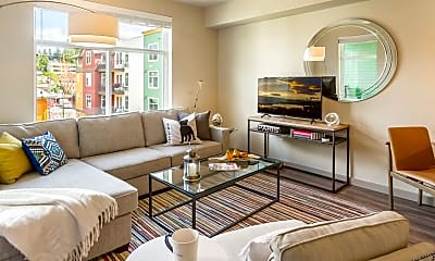 Living Room, Chelsea At Juanita Village, 0