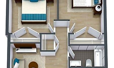 Building, 900 S Elizabeth St, 1