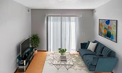 Living Room, 1600 Warren St, 0