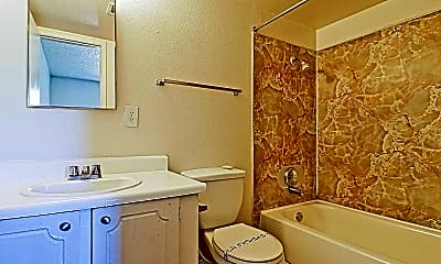Bathroom, Pine Village, 2