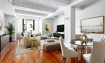 Living Room, 43 W 64th St 6-C, 0