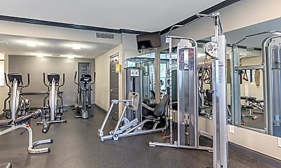 Fitness Weight Room, Chelsea Place, 2