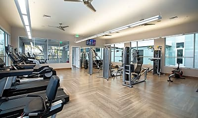 Fitness Weight Room, Highline Pointe Apartments, 2