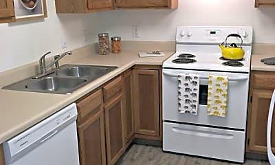 Kitchen, Fairway Hills Apartments, 1