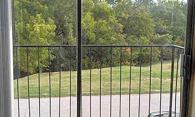 Patio / Deck, Rosewood Park Apartments, 2