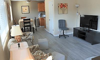 Living Room, 718 N Floral St, 1