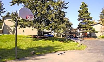 Basketball Court, Madrona Estates Townhomes, 1