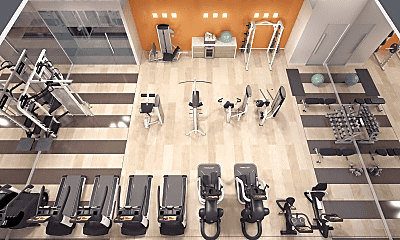 Fitness Weight Room, The Monarch, 1