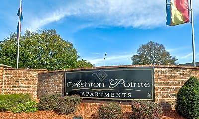 Community Signage, Ashton Pointe Apartments of Indianapolis, 2