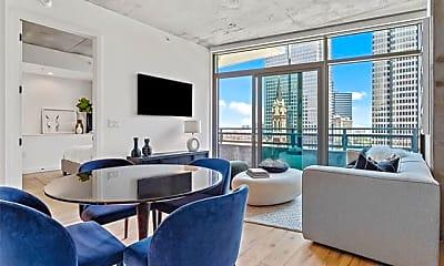 Living Room, 1801 N Pearl St 2805, 0