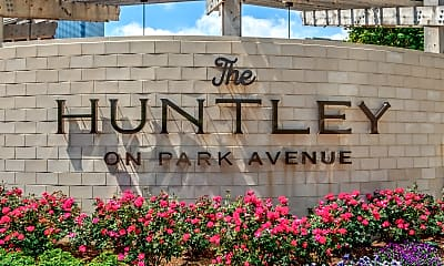 Community Signage, The Huntley, 2