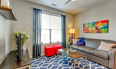 Living Room, 345 Flats, 1